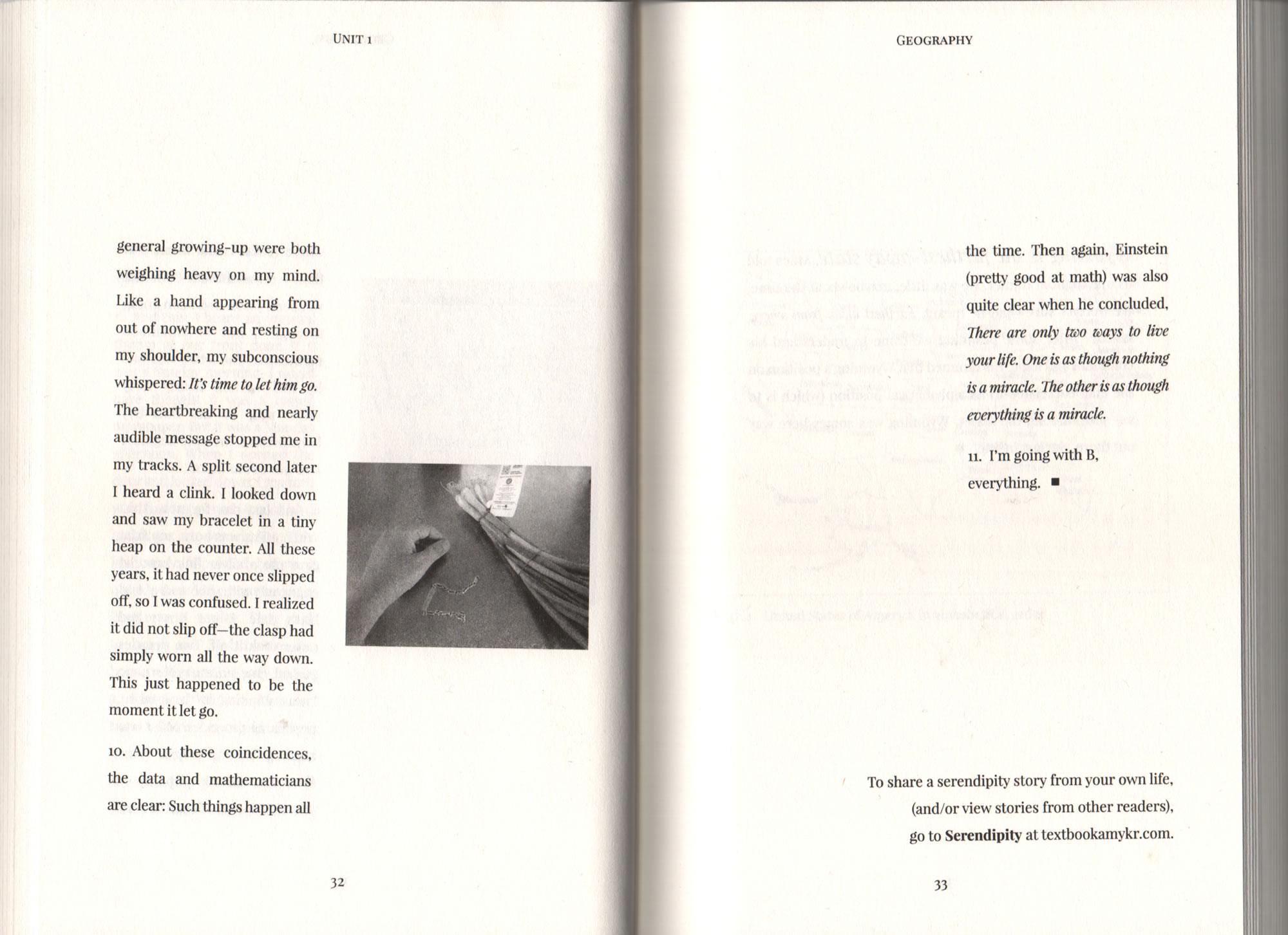 Serendipity | Textbook Amy Krouse Rosenthal